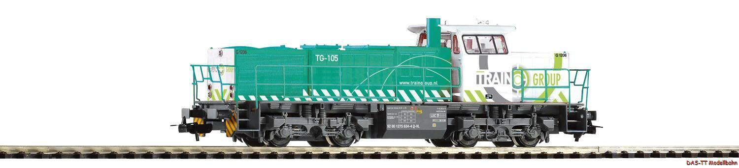 H0 Diesel G 1206 group Train EP. vi PIKO 59926 NUOVO