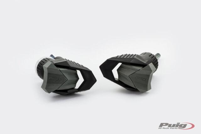 PUIG FRAME SLIDERS MOD. R12 SUZUKI DL650 V-STROM 04-21 BLACK