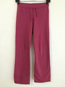 0f201eb3b6c9 Image is loading Juicy-Couture-Drawstring-Sweatpants-Magenta-Raspberry -Girls-039-