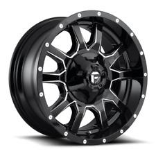 17 Inch Gloss Black Wheels Rims Lifted Ford F150 Truck 6x135 Lug Fuel Vandal 4