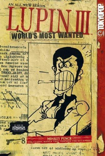 Lupin III: World's Most Wanted Vol. 8 rare oop manga comic lot graphic novel
