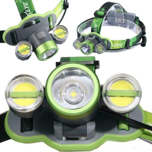 COB LED USB Headlamp 5 Modes Torch Work Light For Camping je 1x 350000LM