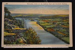 Pennsylvania PA Wyalusing Towanda Wyalusing Rocks Morning