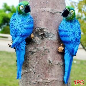 Simulation Resin Parrot Sculpture Modern Household Garden ...