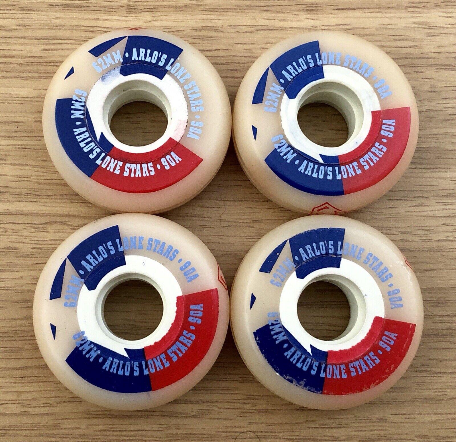 Brand New Set Of 4 Vintage Senate Arlo's Lone Stars Wheels. Aggressive Skating