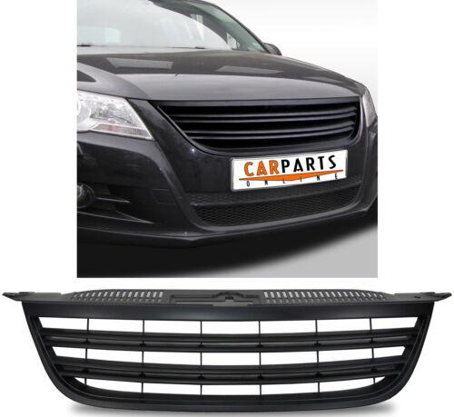 Griglia Radiatore Sport senza Emblema con Doppie Costine Nero per il VW Tiguan