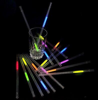 6 Knicklicht Piloten-Brillen Sets einfarbig oder im 6-Farben-Mix