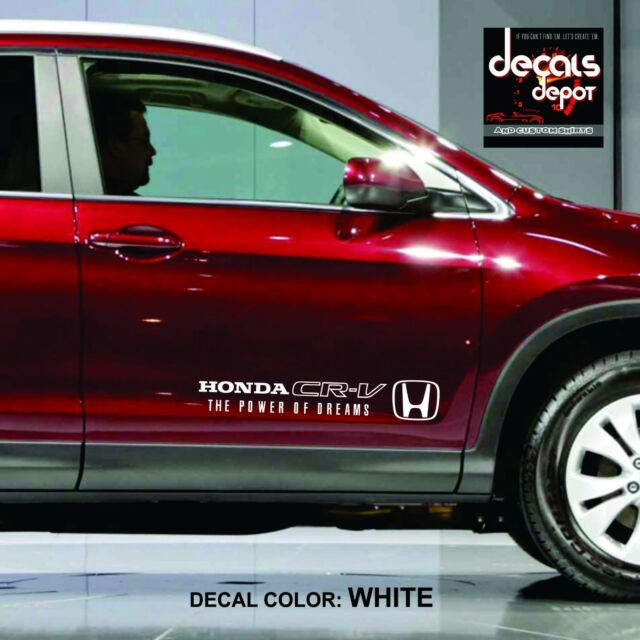 Decal Vinyl Fits HONDA CRV Parts EX-L, XL, TOURING, 2WD, AWD, 2005 to 2015