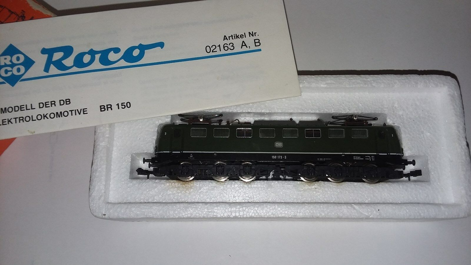 Roco Electric Locomotive Type Type Type BR 150 DB  N Scale a8eeeb