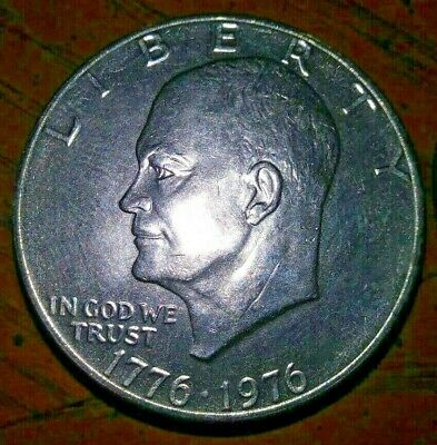 "1971 1972 1974 1976 1977 1978 P or D Eisenhower Choose 1 /""IKE SILVER DOLLAR/"""