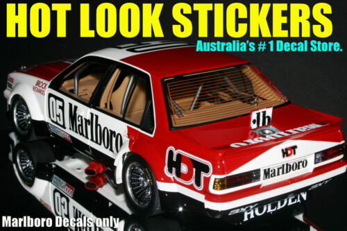 1:18 Peter Brock Missing Vinyl Decals 1981 Bathurst Sandown Winner VC Commodore