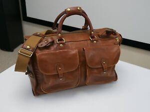 42a661605 Ghurka Marley Hodgson Express #2 Bag in Vintage Chestnut Leather ...