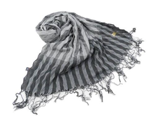 Sciarpa unisex Laura Biagiotti linea stropicciata pashmina 8843 grigio