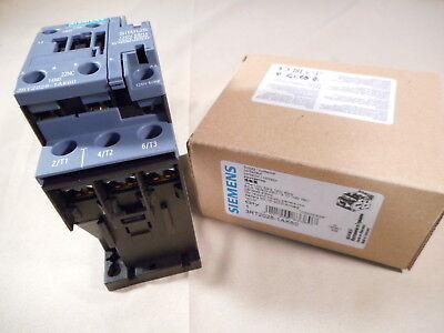 NIB SIEMENS 3RT1033-1AK60 3-pole contactor