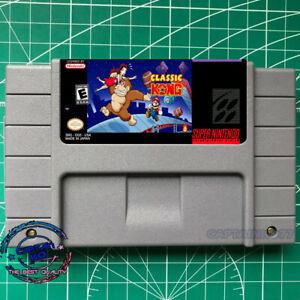 CLASSIC-KONG-SNES-Video-Game-USA-version-FREE-SHIPPING