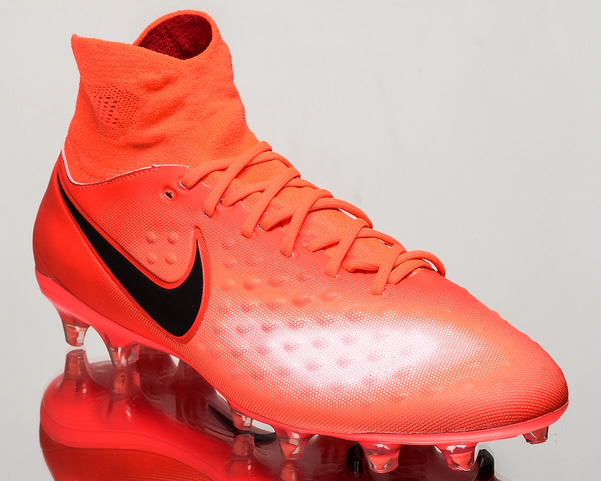 Nike Magista Orden II FG 2 men soccer cleats football NEW crimson 843812-806