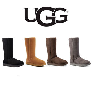 UGG-Women-039-s-Classic-Tall-II-Genuine-Shearling-Lined-Boots