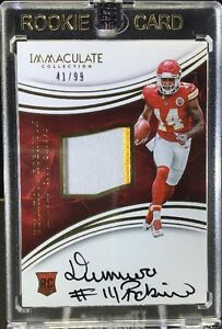 2016-Immaculate-DEMARCUS-ROBINSON-RPA-RC-2-CLR-Patch-OC-Auto-41-99-SP-Chiefs