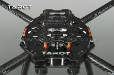 Tarot 650 Carbon Fiber Aircraft Fully Folding FPV Quadcopter Frame Kit TL65B01