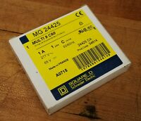 Square D Mg24425 Multi 9 C60, 1 Amp, 1 Pole, C Curve Circuit Breaker -