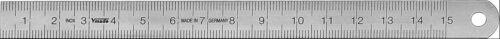 1012010030  Stahllineal Lineal 300mm  Stahlmaßstab  DIN ISO 2768  VOGEL