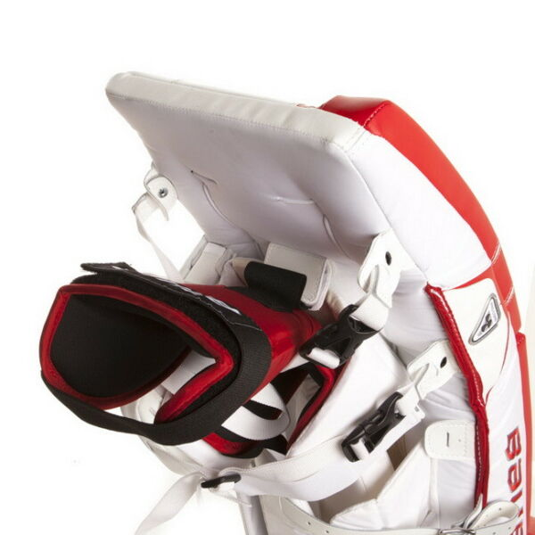 Bauer Reactor 7000 Goalie pads RED \ WHITE 35'+1 - NEW