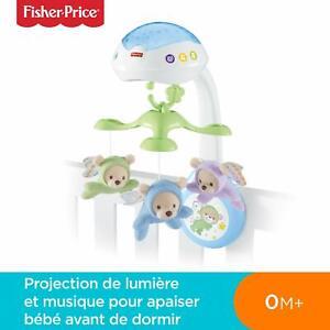 Fisher-Price-Doux-Reves-Papillon-3-en-1-Mobile-Musical-pour-Lit-Bebe-Telecomm