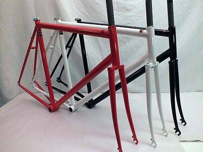 Kilo Stripper Frame Track Gloss White with heavy pearl NIB 55cm White Splash