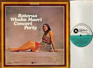 ROTORUA-WHAKA-MAORI-GUIDE-KIRI-concert-party-ZLP-1038-new-zealand-LP-PS-EX-VG