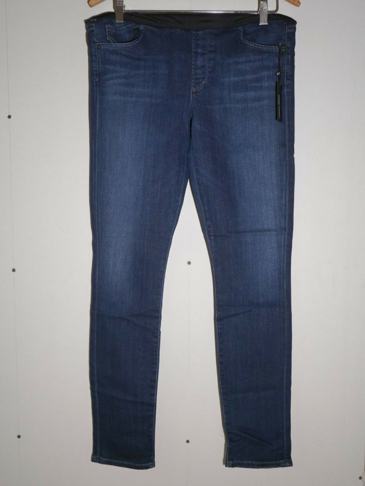 198 NEW Citizens of Humanity Avedon Ultra Skinny Maternity Jeans Belly Panel 32