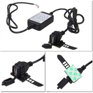 Universal-5V-2-1A-USB-Power-Port-Converter-Charger-For-12V-24V-Motorcycle-Car