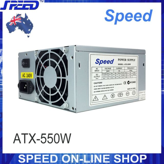 besta 550 watt computer motherboard pc case power supply atx sata rh ebay com au