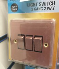 ELPINE 1 GANG 1 WAY DIMMER  LIGHT  SWITCH STAINLESS STEEL
