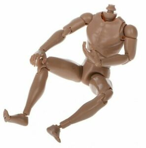 1 Packs 1:6 Action Figure Male Body Nude Muscular Wide Shoulder for HT