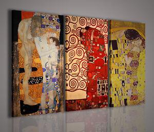 Caricamento Dellimmagine In Corso Gustav Klimt IX Memorial Quadri Moderni Il Bacio