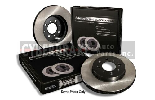 FRONT Premium Black E-Coat Rotor Pair of 2 Fits 03-09 Lexus GX470
