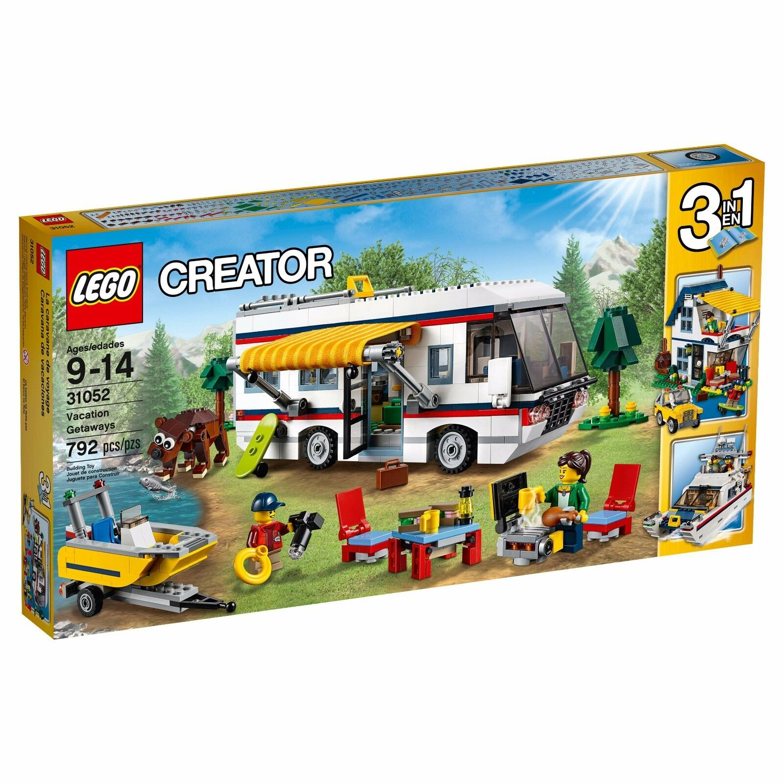 LEGO 31052 Creator Vacation Getaways Building Set 792 pieces
