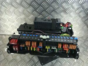 Detalles De Bmw Rele Caja De Fusibles Serie 3 E46 Oem Power Distribucion Caja Oem 8387153