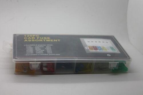 Autosicherungen KFZ  Sicherungen Flachsicherung  19mmSortiment 5-30A Set 120