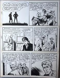 HONDO Tavola Originale di BIGNOTTI pubblicata su ZENITH 8-31 - Italia - HONDO Tavola Originale di BIGNOTTI pubblicata su ZENITH 8-31 - Italia