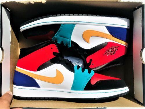 554724 hombre 887229628464 Bred rojo 1 multicolor 125 Nike blanco Retro Air talla para Mid Jordan 13 xYS7qZ