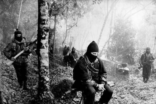 ZAPATISTA Comandante Marcos EZLN GUERILLERO DOLL KEYCHAIN from Chiapas Mexico