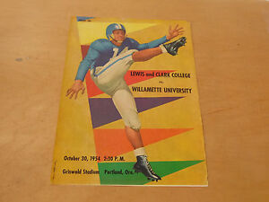 1954 WILLAMETTE UNIVERSITY AT LEWIS AND CLARK (OR) COLLEGE ...