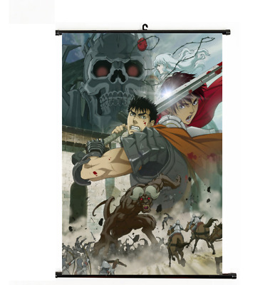 BERSERK Kentaro Miura Decor Poster Wall Scroll cosplay 40*60cm