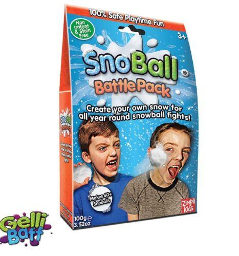 SNOBALL Battle Pack 2 Packs-neige boules toute l/'année par Gelli Baff