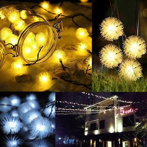 10 Colors Fairy String Light Lamp Wedding Xmas Party Outdoor Indoor Room Decor
