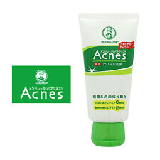 Acnes Mentholatum☆ROHTO-Medicated Acne Sterilization Cream Wash Cleanser  130g