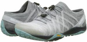Merrell-J12656-Women-039-s-Vapor-Trail-Glove-4-Knit-Sneaker-Gris-Tailles-4-8