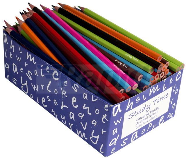 RVFM Economy Coloured Pencils Class Pack of 144