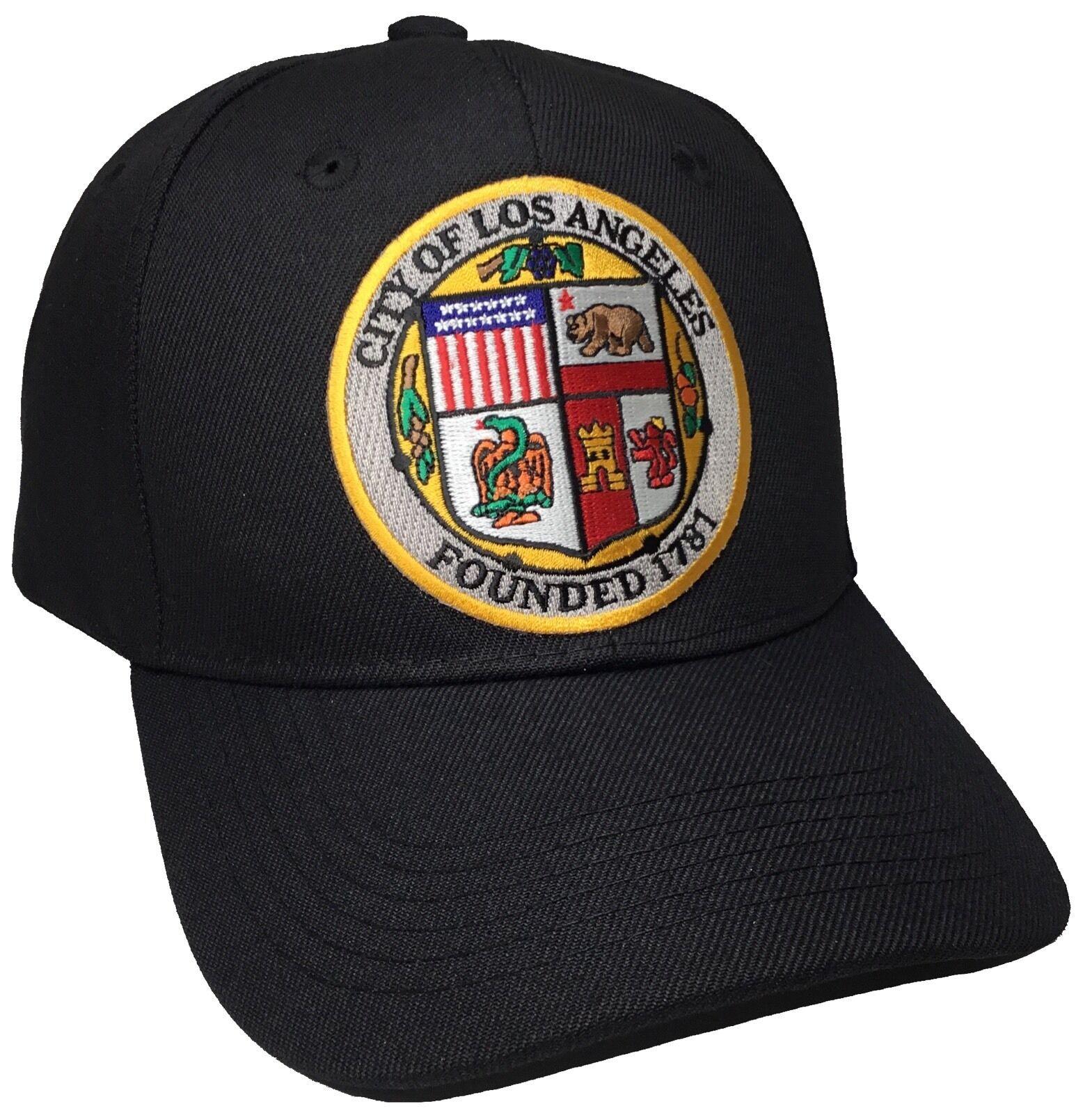 City Of Black Los Angeles Hat Color Black Of Adjustable 53e2ba